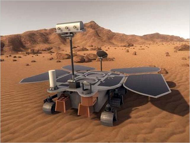 Nave espacial china llega a Marte para explorar la superficie en busca de signos de vida