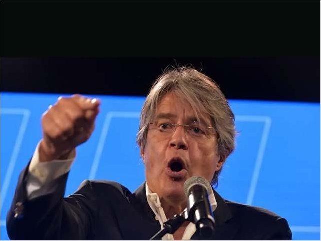 CNE de Ecuador otorga leve ventaja a Guillermo Lasso sobre Yaku Perez