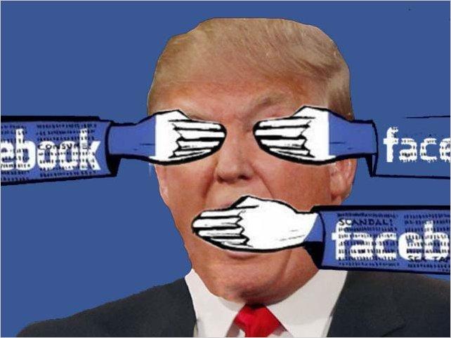 Eliminar las cuentas del Presidente Donal Trump por parte de Facebook, Twitter e Instagram causa debate por libertad de expresión