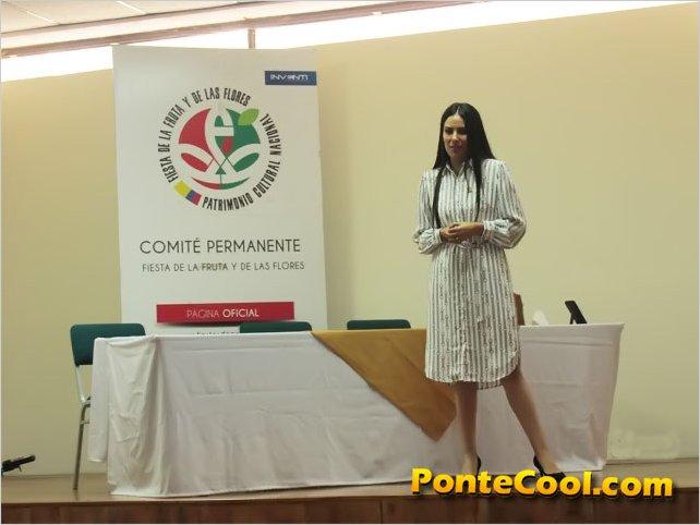 Si se realizarán las Fiestas de Ambato 2021 manifiesta Diana Almeida Directora del Comité Permanente