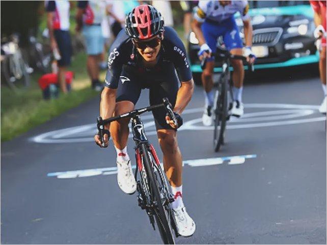 ¡Histórico! Richard Carapaz segundo en etapa 16 del Tour de Francia y premio de combatividad