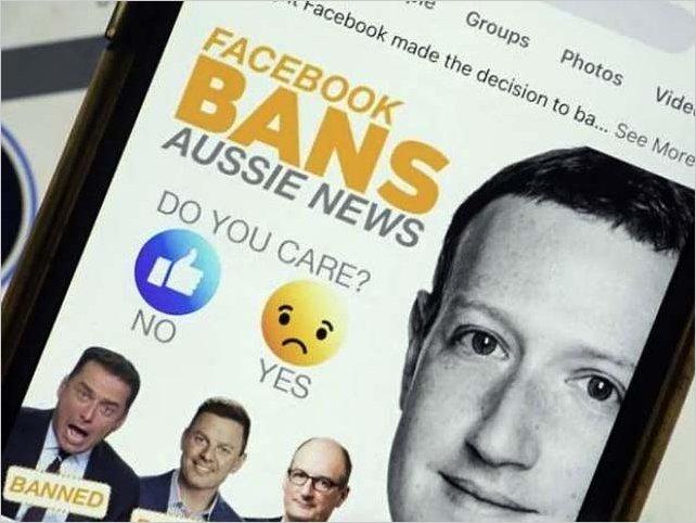 Facebook bloquea que los usuarios compartan informaciones de noticias en Australia