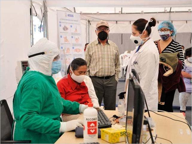 Casos de coronavirus en Ecuador, al 18 de noviembre: 182.250 confirmados