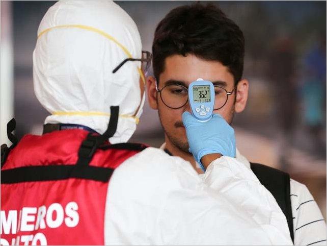 Se reportaron en Ecuador 153423 casos de infectados