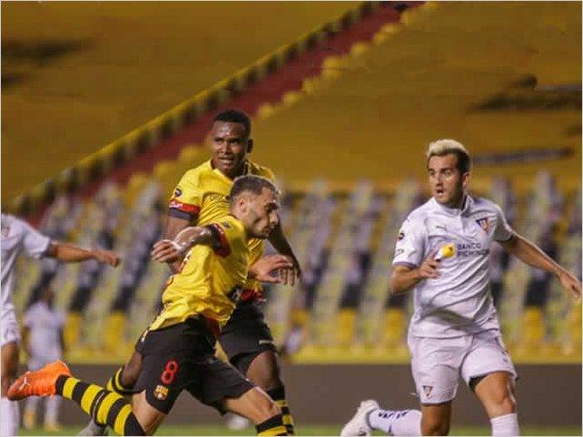 Barcelona SC igualó 1-1 ante LDU Quito en la final de ida de la LigaPro Serie A de Ecuador