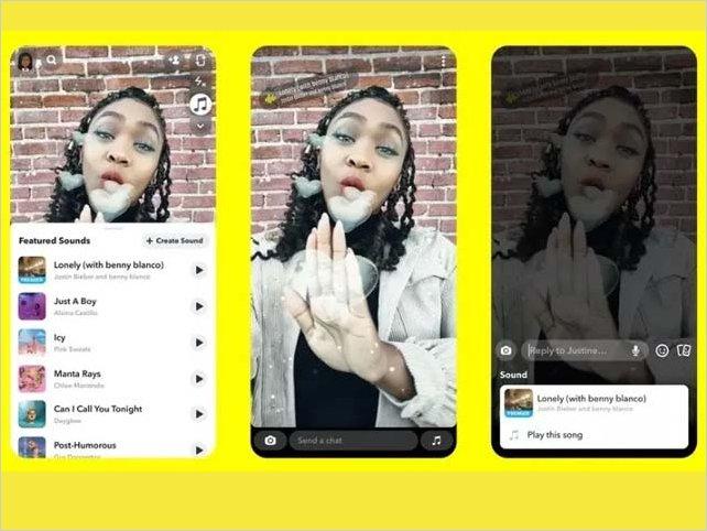Snapchat no se quiere quedar atrás y finalmente agregan audio el sus historias en iOS.