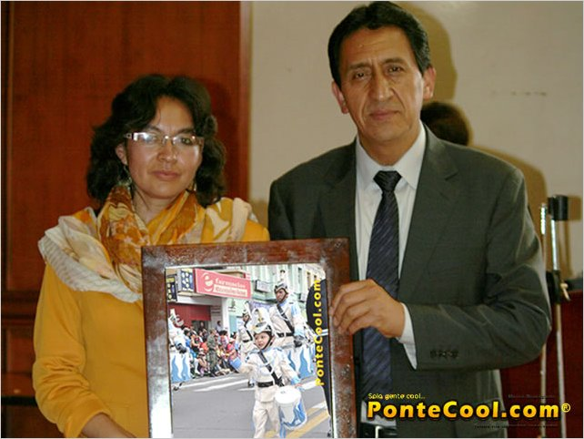 Reconocimiento al Colegio Guayaquil el Colegio Más Cool del 12 de Noviembre de 2013