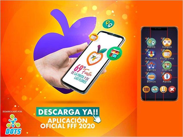 F.F.F. 2020 con aplicación móvil para Android e IOS