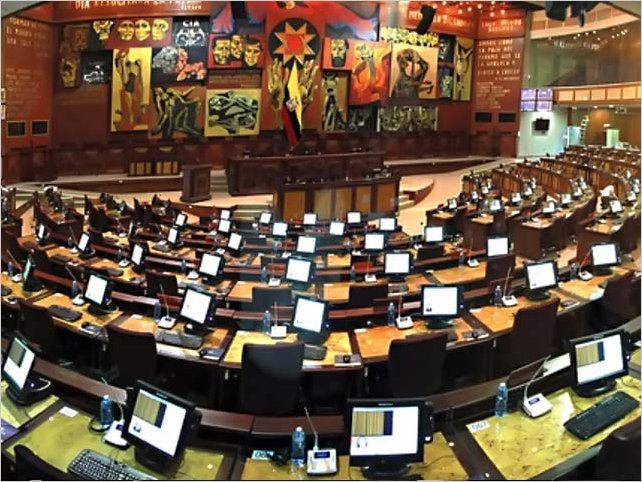 Asamblea Nacional de Ecuador archiva el proyecto económico urgente del Ejecutivo