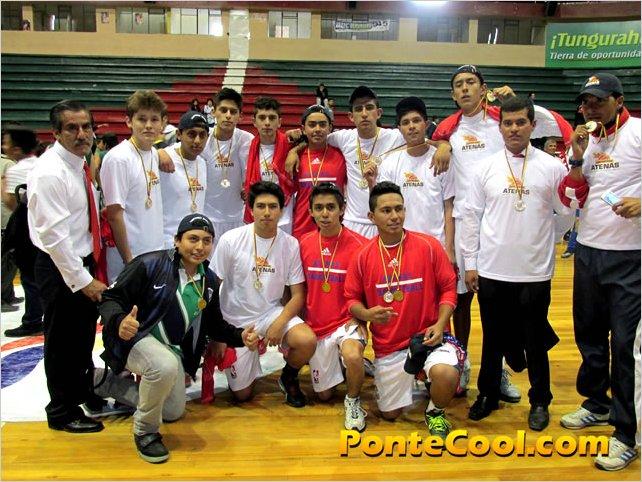 La Unidad Educativa Atenas se proclamo campeón del Intercolegial de Basquet 2015 categoría superior