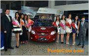 Chevrolet present� el auto que recibir� la nueva Reina de Ambato 2014
