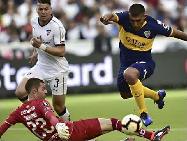 Boca a un paso de las semifinales al derrotar a Liga de Quito por 3 a 0 en la Casa Blanca