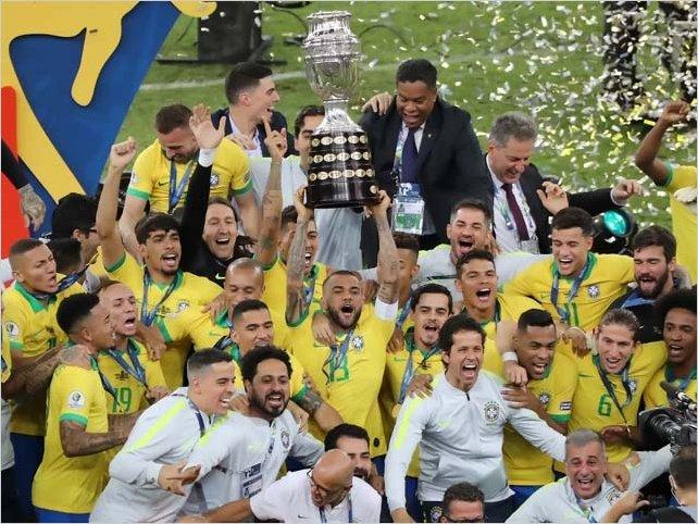 Brasil es campeón de Copa América 2019 tras vencer a Perú