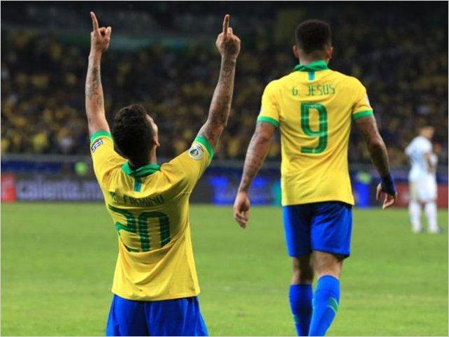Messi y Argentina lo dejan todo, pero un quirúrgico Brasil los elimina del torneo