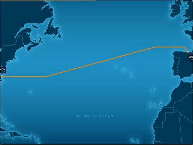 Facebook y Microsoft construirán un cable que atravesara el Atlántico