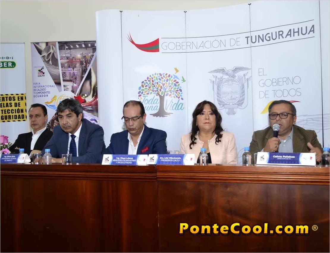 En la Gobernación de Tungurahua se realizó la Presentación de la Feria FICCE 2019
