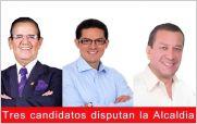 Luis Amoroso, Alexis S�nchez y Javier Altamirano se disputan la alcald�a