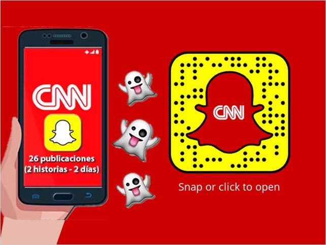 CNN lanza un noticiero solo para Snapchat