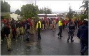 Denuncian presencia policial dentro de la Unidad Educativa Bol�var de Ambato