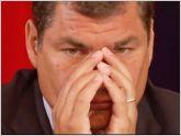 El 58% de los ecuatorianos reprueba la gesti�n de Rafael Correa