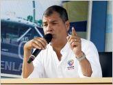 Presidente Rafael Correa pide se averig�e impuesto a la renta pagado por Nebot y Lasso