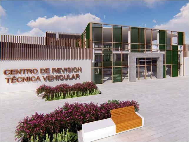 Alcalde de Ambato firma contrato para construcción del Centro de Revisión Técnica Vehicular