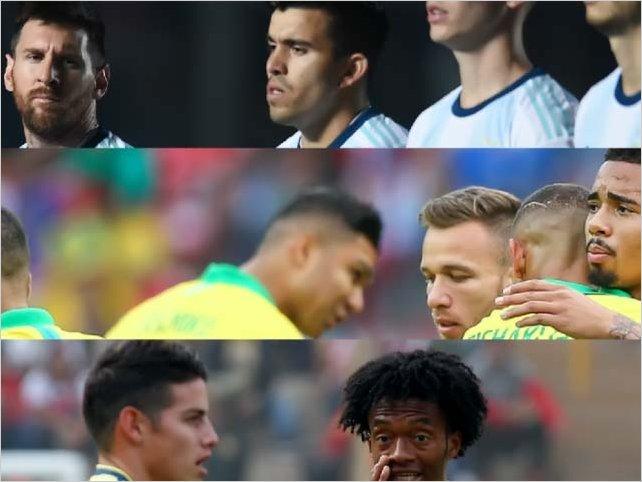 Estos son los próximos partidos de Cuartos de Final de la Copa América 2019