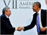 Barack Obama y Ra�l Castro se reunieron durante la VII Cumbre de las Am�ricas