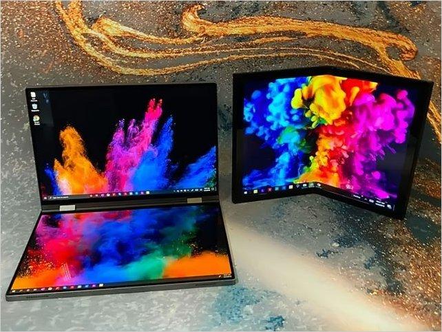Dell presenta 2 prototipos con pantallas plegables en el CES 2020