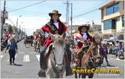 Se realiz� el Desfile Chacarero Fiestas de Ambato 2014 por las calles de la ciudad