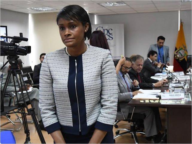 Diana Salazar es la nueva fiscal general del Ecuador