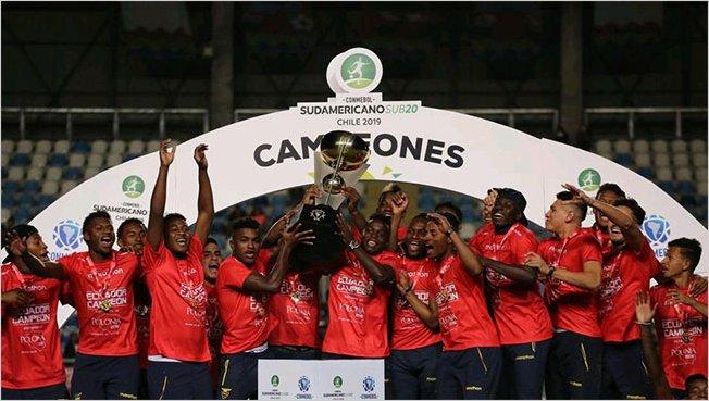 Ecuador se consagró por primera vez Campeón del Sudamericano Sub 20