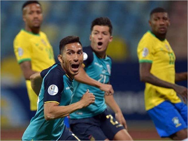 Ecuador acabó con racha de año y medio de victorias de Brasil