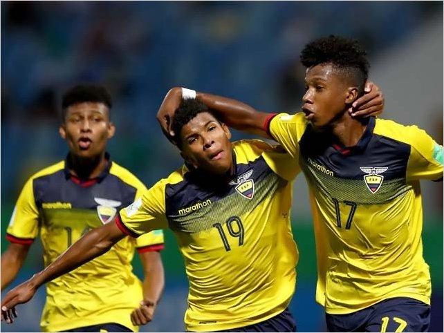 Ecuador jugará en octavos del Mundial Sub-17 contra Italia el 7 de noviembre