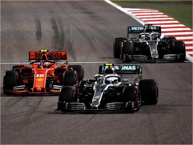 Lewis Hamilton firma su primera victoria de la temporada 2019 en Sahkir