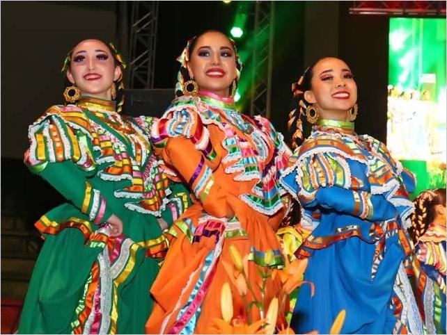 Inauguración del Festival Internacional del Folclor Fiestas de Ambato 2020