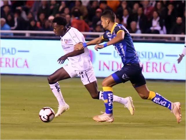 Liga de Quito 0 - 0 Delfín en la Primera Final de la Liga Pro 2019