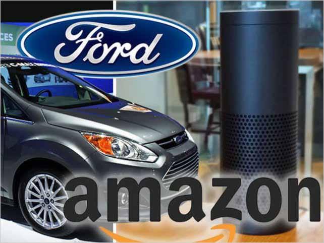Ford se une con Amazon para crear automóviles inteligentes