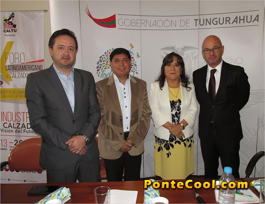 Se desarrollo la rueda de prensa sobre el X Foro Latinoamericano del Calzado en Ambato