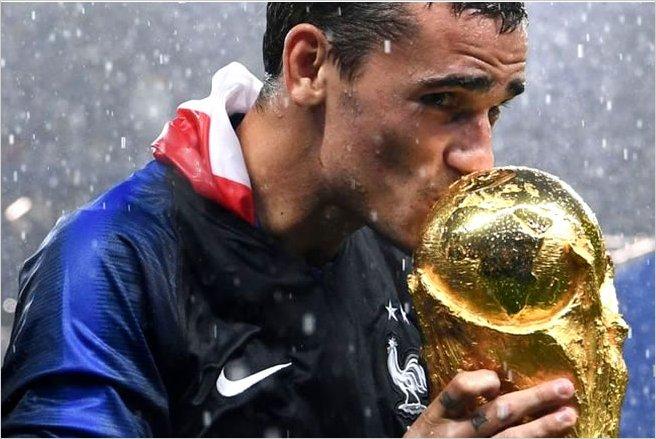 Francia campeón de Rusia 2018