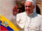 Tres d�as estar�a el papa Francisco en Ecuador del 6 al 8 de julio