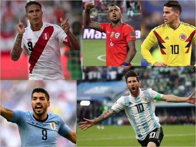 Copa América: Los 6 goleadores históricos del torneo de Conmebol