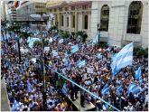 Hist�rica protesta ciudadana en contra de Correa en Ecuador