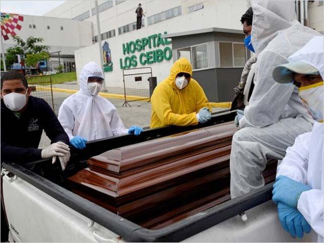 Ecuador confirmó que en abril la provincia del Guayas registra 4.700 muertos más que lo habitual