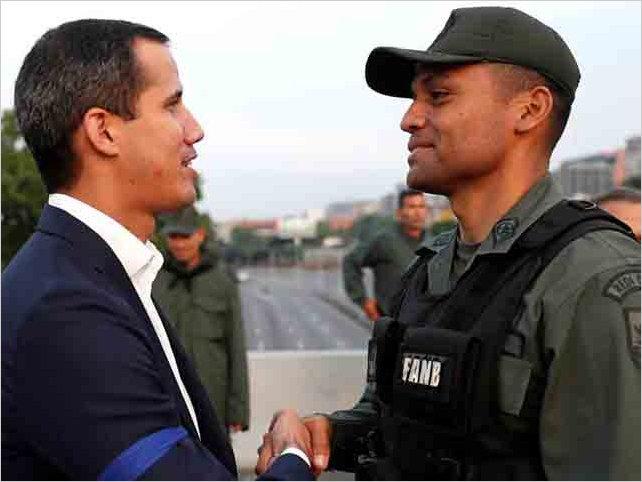 Juan Guaidó llama a venezolanos a salir a las calles a liberar a Venezuela