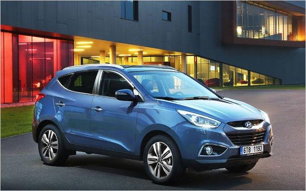 Hyundai renueva el ix-35, su todocamino más vendido