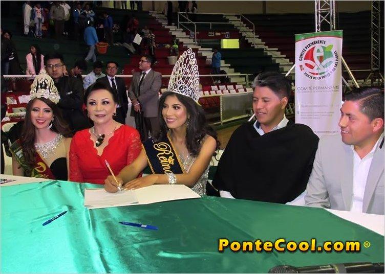 Ibeth Bonifaz es la undécima candidata inscrita para Reina de Ambato 2020