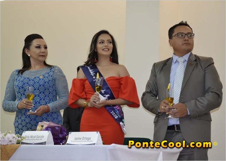 Nicole Garzón es la quinta candidata inscrita para Reina de Ambato 2020