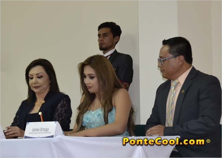 Nicole Pástor es la tercera señorita inscrita para Reina de Ambato 2020