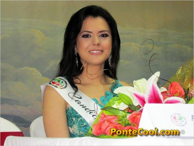 María Judith Custode Carrión segunda inscrita a Reina de Ambato 2017